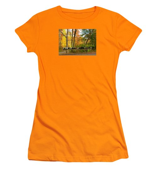 Women's T-Shirt (Junior Cut) featuring the photograph Many Shapes And Sizes by Jeanette Oberholtzer