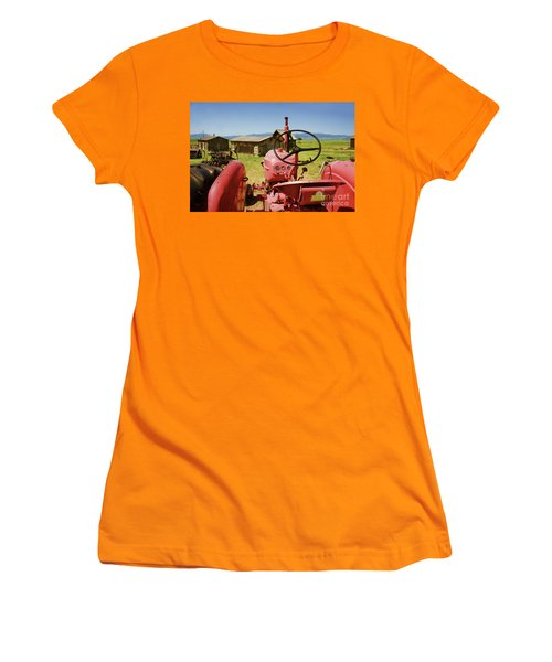 Massey Harris Tractor Women's T-Shirt (Athletic Fit)