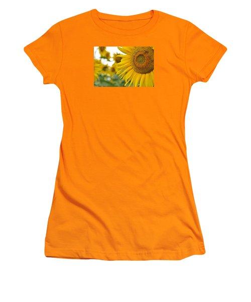 Mellow Yellow Women's T-Shirt (Junior Cut) by Joanne Brown