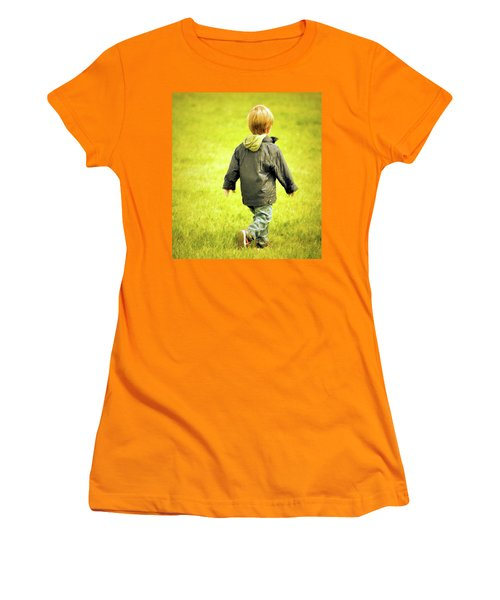 Women's T-Shirt (Junior Cut) featuring the photograph Memories... by Barbara Dudley