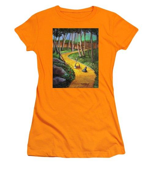 Memories Of Oz Women's T-Shirt (Junior Cut) by Randy Burns