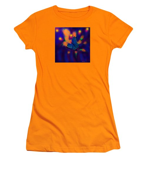 Women's T-Shirt (Junior Cut) featuring the digital art Metamorphosis by Latha Gokuldas Panicker