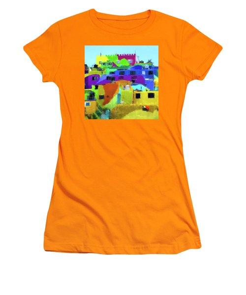 Mexican Homes Women's T-Shirt (Junior Cut)