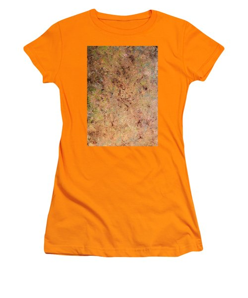 Women's T-Shirt (Junior Cut) featuring the painting Minimal 7 by James W Johnson
