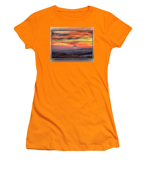 Monet Morning Women's T-Shirt (Athletic Fit)