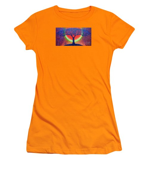 moonshine-2/God-is light/ Women's T-Shirt (Athletic Fit)