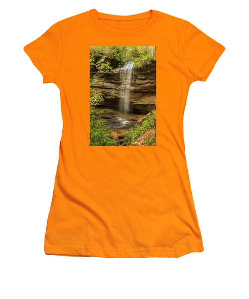 Moore Cove Falls Women's T-Shirt (Athletic Fit)