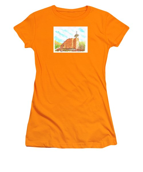 Morada De La Conquistadora Chapel, Santa Fe, New Mexico Women's T-Shirt (Athletic Fit)
