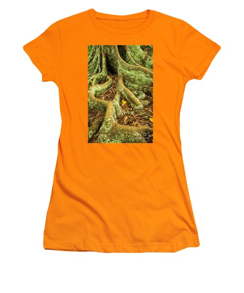 Women's T-Shirt (Junior Cut) featuring the photograph Moreton Bay Fig by Werner Padarin