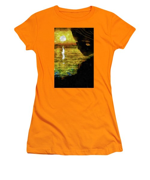 Women's T-Shirt (Junior Cut) featuring the photograph Mother Earth Watching by Joseph Hollingsworth