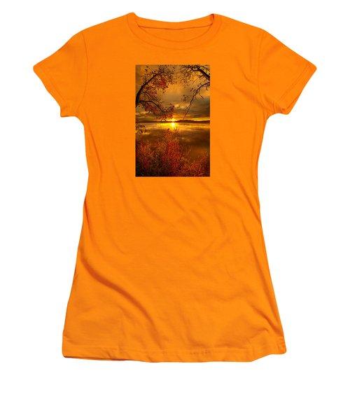 Mother Nature's Son Women's T-Shirt (Junior Cut) by Phil Koch