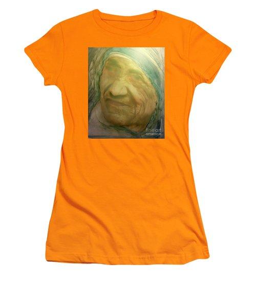 Mother Teresa Women's T-Shirt (Junior Cut) by FeatherStone Studio Julie A Miller
