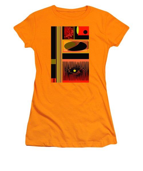 Mum Abstract 1 Women's T-Shirt (Junior Cut) by Brooks Garten Hauschild