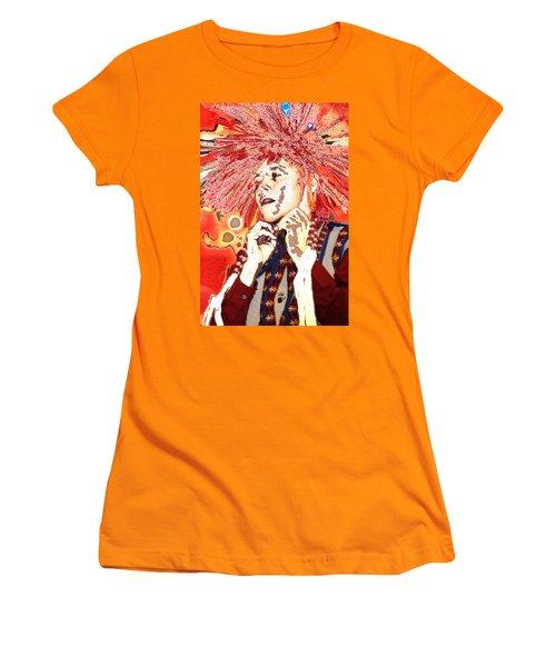 Native Prince Women's T-Shirt (Junior Cut) by Audrey Robillard
