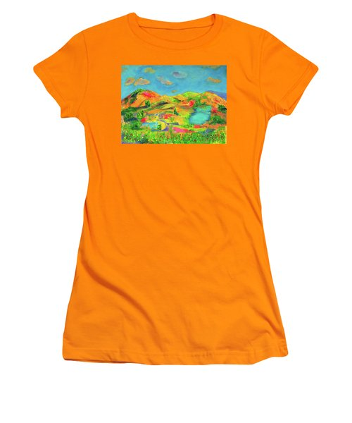 Nature Speaks Women's T-Shirt (Athletic Fit)