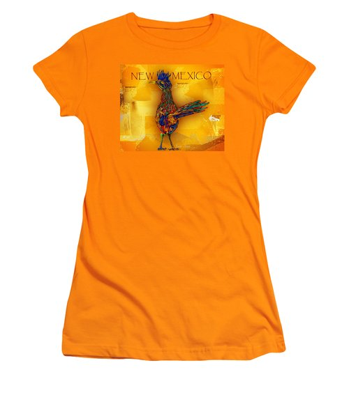 New Mexico Roadrunner Women's T-Shirt (Athletic Fit)