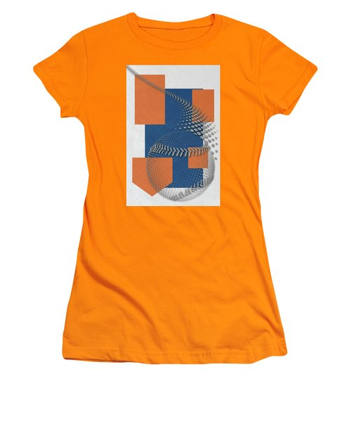 New York Mets Art Women's T-Shirt (Athletic Fit)