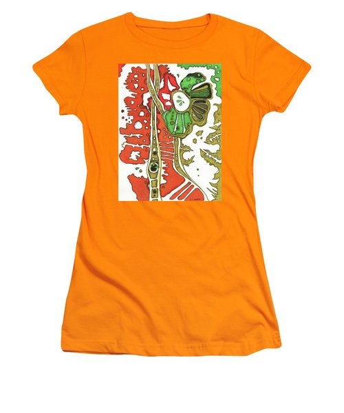 Nightmare In The Garden Women's T-Shirt (Athletic Fit)