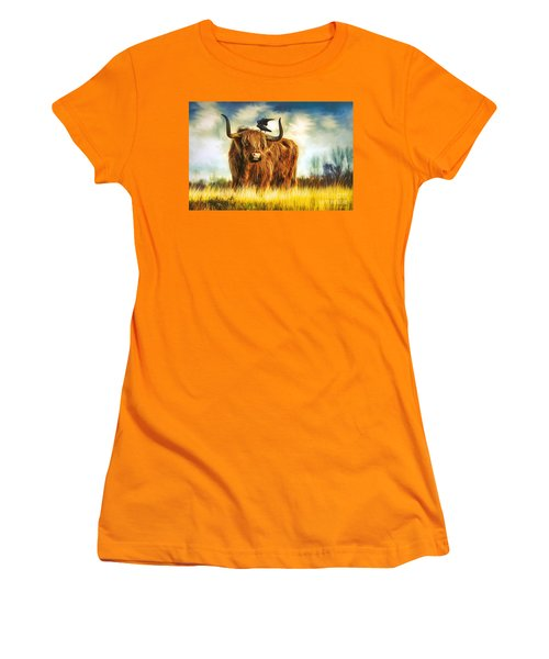 No Crow About It Women's T-Shirt (Athletic Fit)