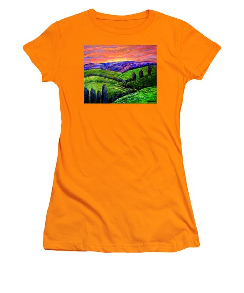 No Place Like The Hills Of Tennessee Women's T-Shirt (Junior Cut) by Kimberlee Baxter