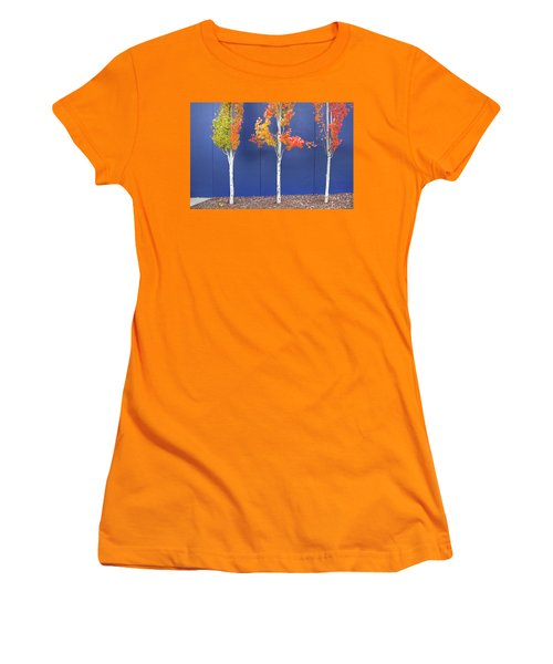 Now Showing Women's T-Shirt (Junior Cut) by Theresa Tahara