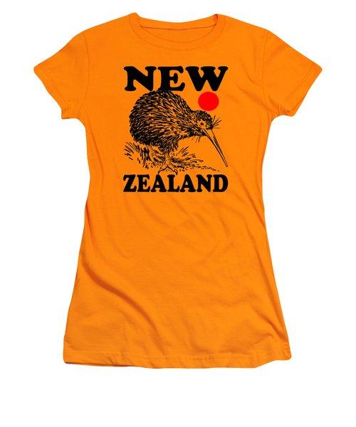 Nz-kiwi Women's T-Shirt (Athletic Fit)