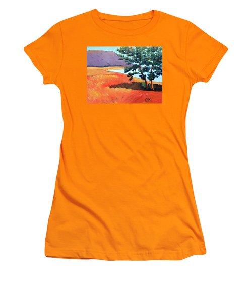 Ocean View Women's T-Shirt (Junior Cut) by Gary Coleman