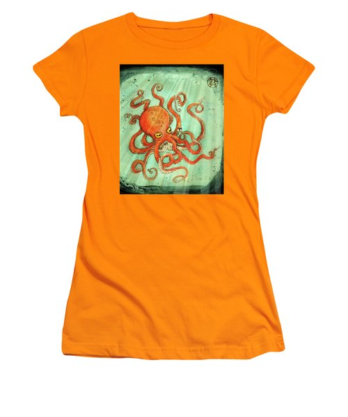 Octo Tako With Surprise Women's T-Shirt (Athletic Fit)