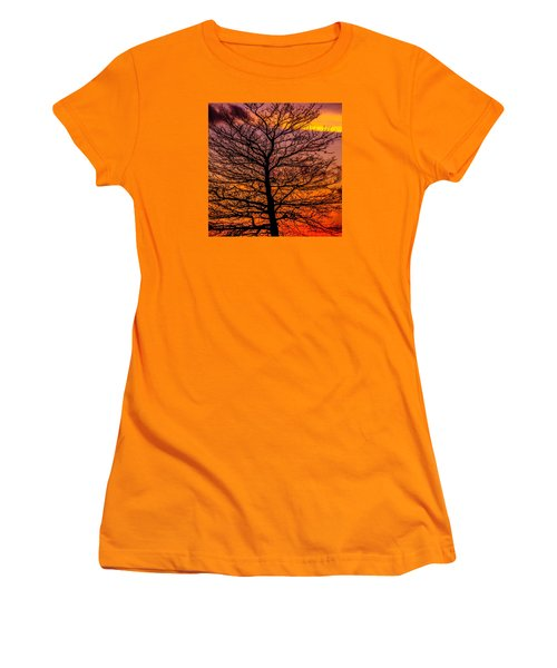 October Sky Women's T-Shirt (Athletic Fit)
