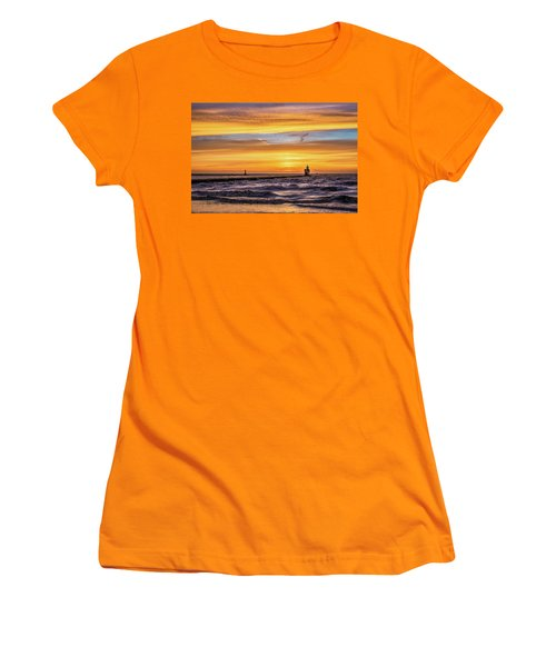 Women's T-Shirt (Athletic Fit) featuring the photograph October Surprise by Bill Pevlor