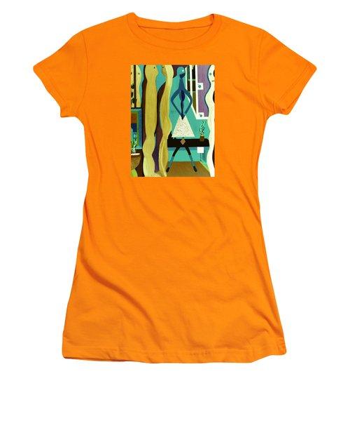 Office Party Women's T-Shirt (Junior Cut) by Bill OConnor