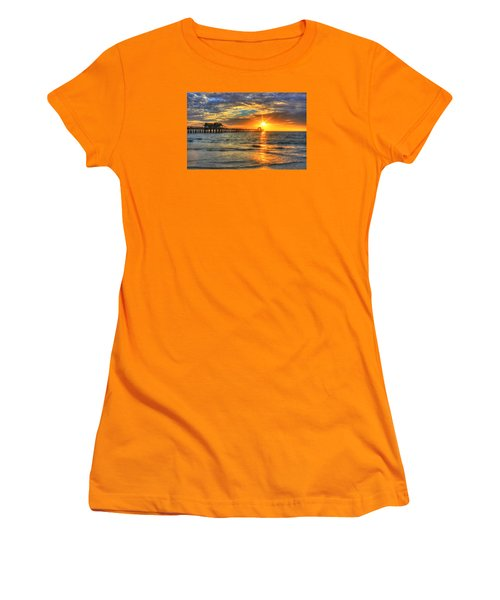 On Fire Women's T-Shirt (Athletic Fit)