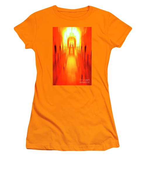 Women's T-Shirt (Junior Cut) featuring the photograph On The Way To Death Row by Paul W Faust - Impressions of Light