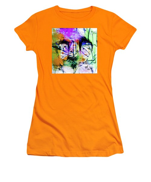Women's T-Shirt (Athletic Fit) featuring the digital art One In Every Three by Jim Vance
