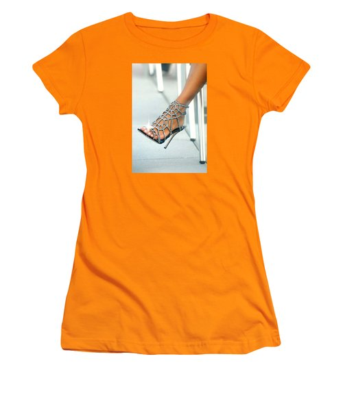 Open Toe Women's T-Shirt (Athletic Fit)