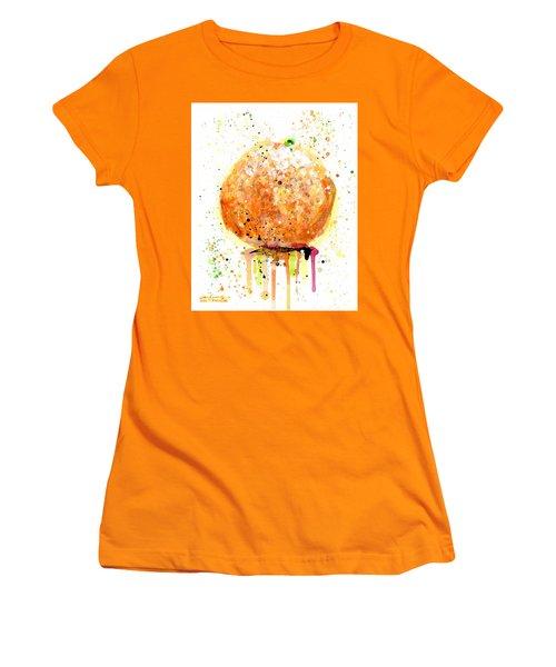 Orange 2 Women's T-Shirt (Junior Cut) by Arleana Holtzmann