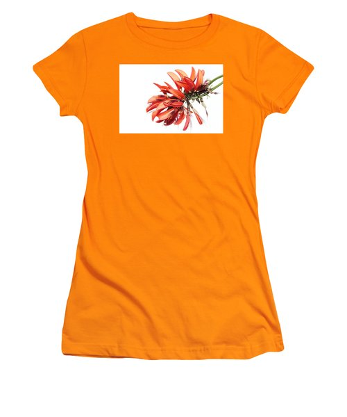Orange Clover I Women's T-Shirt (Athletic Fit)