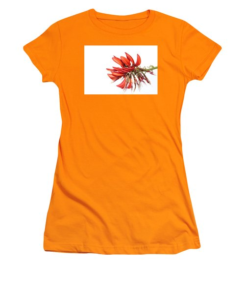 Women's T-Shirt (Athletic Fit) featuring the photograph Orange Clover IIi by Stephen Mitchell