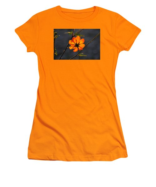 Orange Cosmo Women's T-Shirt (Athletic Fit)
