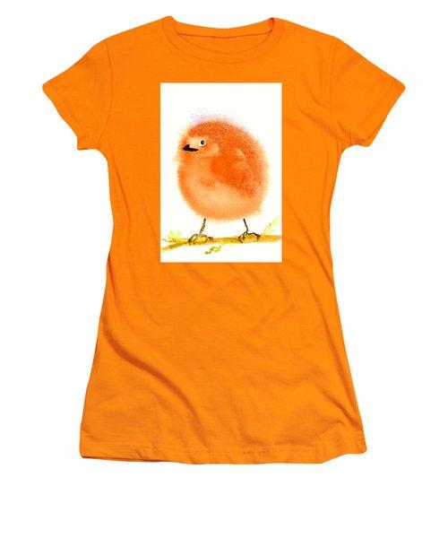 Orange Fluff Women's T-Shirt (Athletic Fit)