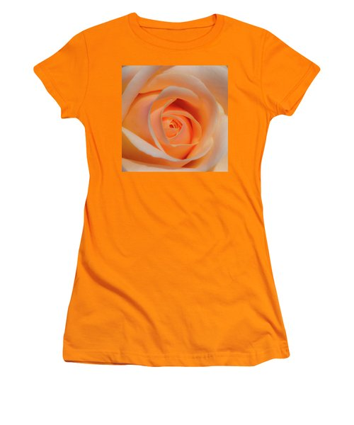 Orange Rose Women's T-Shirt (Athletic Fit)