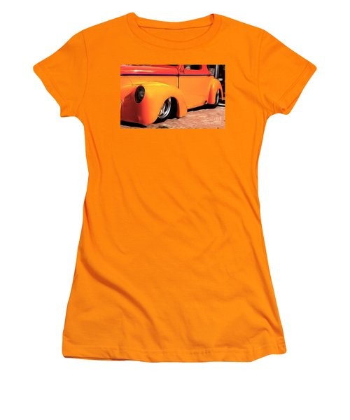 Orange Rush - 1941 Willy's Coupe Women's T-Shirt (Athletic Fit)