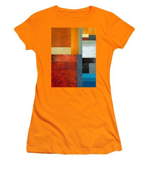 Orange Study With Compliments 1.0 Women's T-Shirt (Junior Cut) by Michelle Calkins