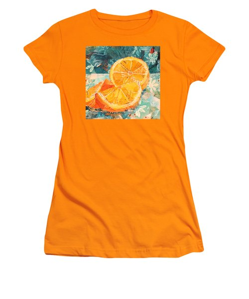 Orange You Glad? Women's T-Shirt (Athletic Fit)