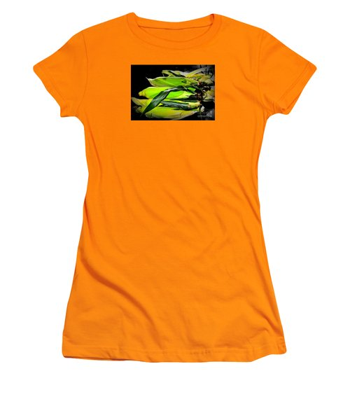Organic Corn 2 Women's T-Shirt (Athletic Fit)
