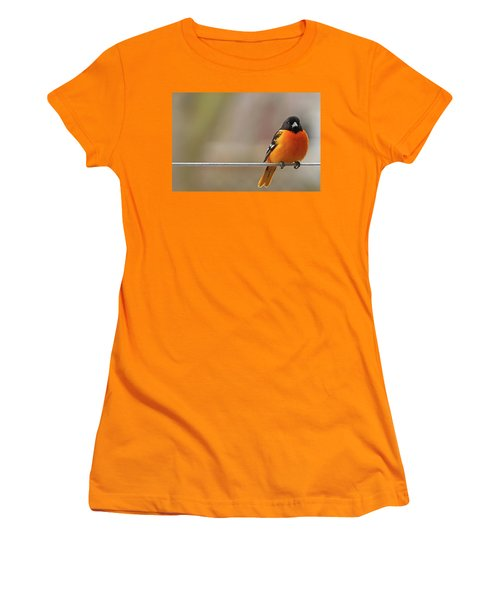 Oriole On The Line Women's T-Shirt (Athletic Fit)
