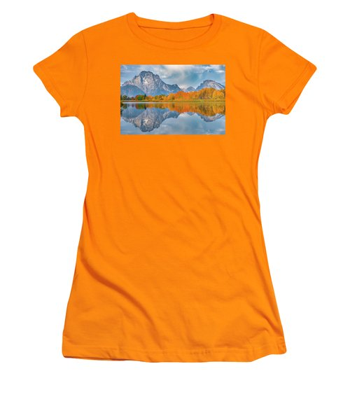 Oxbow's Autumn Women's T-Shirt (Athletic Fit)