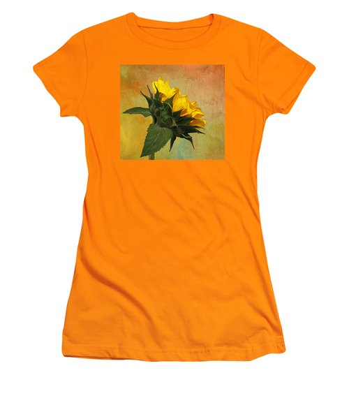Painted Golden Beauty Women's T-Shirt (Athletic Fit)