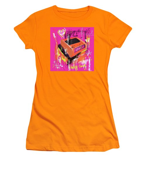 Party Time  Women's T-Shirt (Athletic Fit)