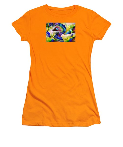 Pattern 287 _ Match Women's T-Shirt (Athletic Fit)
